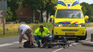 fietser aangereden door auto